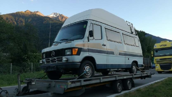 MERCEDES 208B WESTFALIA JAMES COOK